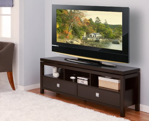 ioHOMES Sonoma Entertainment Center with 2 Drawer, 60-Inch, Cappuccino price