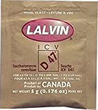 Lalvin ICV D-47 葡萄*酵母(10 件装) 米色 PW-COIA-QACH 10
