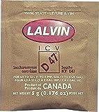 Lalvin ICV-D47 Wine Yeast, 5g - 10-Pack