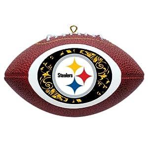 NFL Pittsburgh Steelers Mini Replica Football Ornament