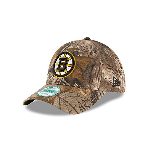 Boston Bruins The League Realtree Camo 9FORTY Adjustable Hat / (Boston Bruins Womens Adjustable Hat)