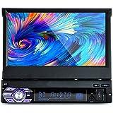 PolarLander 1 Din écran tactile LCD de 7 pouces voiture Radio Player support mains libres Bluetooth 1080P Film Caméra arrière