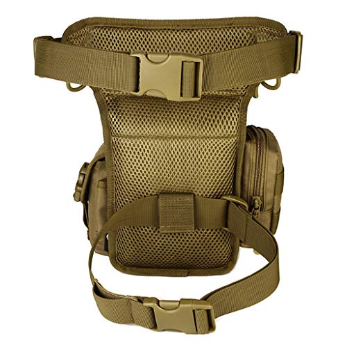Ceinture Bag Pack Leg Senoow Fanny Militaire Army Taille Green Moto Hommes Vintage Nylon Drop Rider wqxng78X