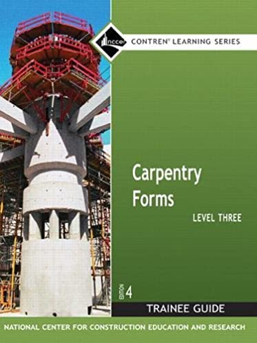 carpentry forms level 3 trainee guide contren learning series rh amazon com