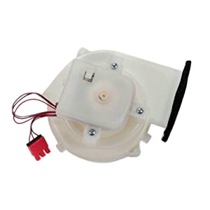 Lg 5209JA1044A Refrigerator Ice Fan Motor and Duct Genuine Original Equipment Manufacturer (OEM) Part