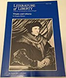 img - for Utopoia and Liberty (Literature of Liberty, Winter 1981) book / textbook / text book
