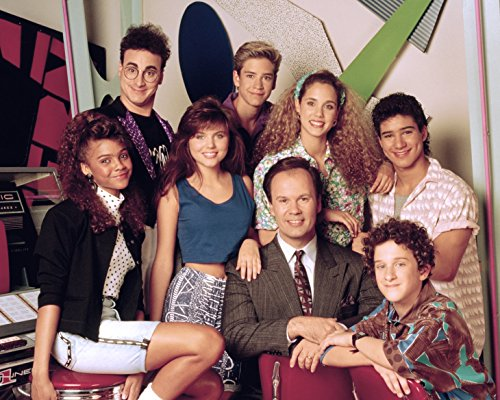 Saved by the Bell CAST / Tiffani-Amber Thiessen 8 x 10 GLOSSY Photo Picture (Tiffany Amber Thiessen Saved By The Bell)