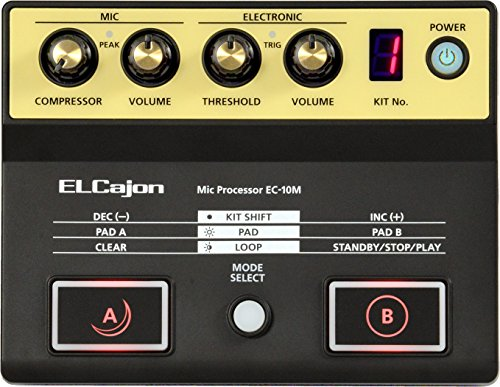 Roland Mic Processor for the EC-10 ELCajon, Black (EC-10M) ()