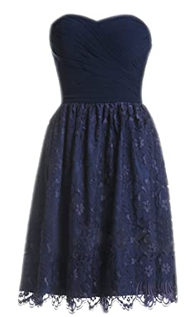 Dresses Bridesmaid Short Navy