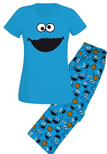 Galletas El Las De Con Pijama Diseño Sesamstraße Cara Monstruo TwvU8gqx