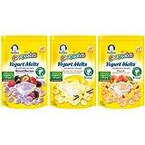 Gerber Graduates Yogurt Melts Snack Variety Pack, 1 Ounce (Pack of 7)