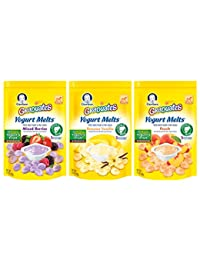Gerber Graduates Yogurt Melts Snack Variety Pack, 1 Ounce (Pack of 7) BOBEBE Online Baby Store From New York to Miami and Los Angeles