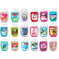 Bath and Body Works Anti-Bacterial Hand Gel 5-Pack PocketBac Sanitizers, Assorted...