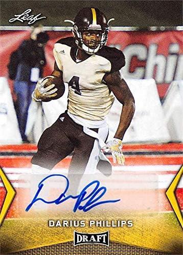 Darius Phillips autographed football card (Western Michigan ...