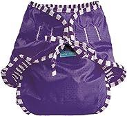 Kushies Baby Unisex Swim Diaper - Large,Purple Solid,Large,