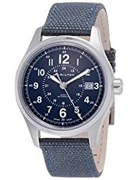 Hamilton Khaki Field Brown Dial Automatic Mens Stainless Steel Watch H70305193