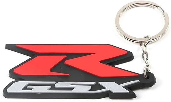 Suzuki GSX R Motorcycle Key Chain Red