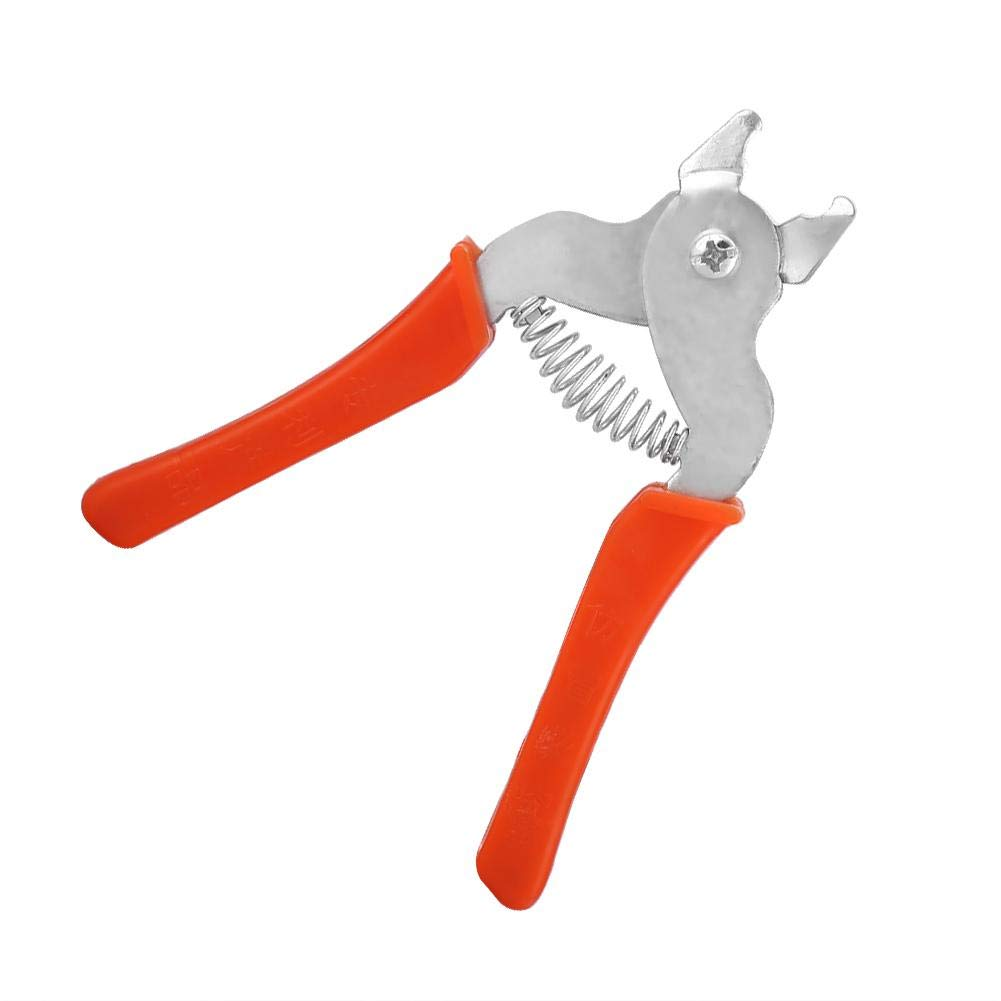 Alicates de jaula, herramientas de mano Tenazas de clip para reparar e instalar Chicken Rabbit Dog Cat Pet Animal Jaulas Anillos para cerdos Cerca de ...