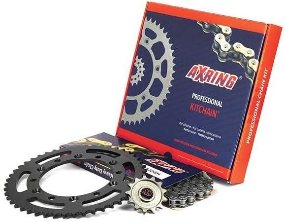 Kit Chaine Hyper Renforc/é pour KAWASAKI KX 250 1992-1993 Axring