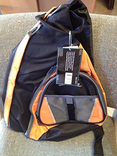 Access Extreme Bag n' Pack Backpack #90717 Black/ Orange/ Grey by Access Extreme