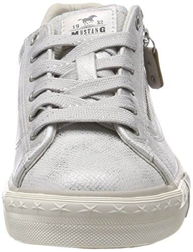 Silber Sneakers 311 Women's Top 21 1146 Silver 21 Mustang Low avfqw8Sg