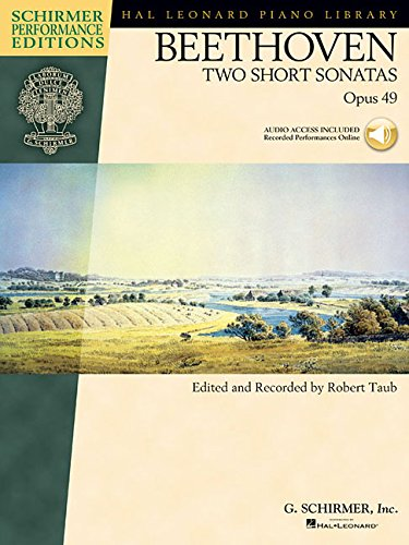 Beethoven - Two Short Sonatas, Opus 49 (Hal Leonard Piano Library) Bk/online audio by Brand: GS EDITION 5
