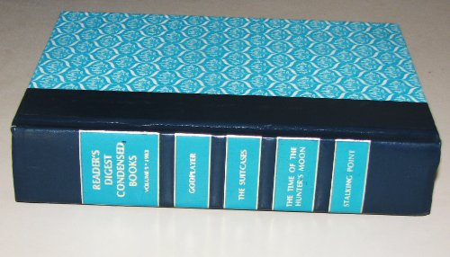 Readers Digest Condensed Books, (Godplayer, The Time Of The Hunters Moon, Stalking Point, Suitcases (Volume 5)
