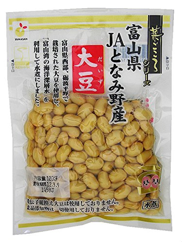 Vegetables sincerity Toyama Prefecture JA Tonami field soybeans 120g ~ 5 bags by Wild ginseng food industry