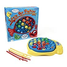 Pressman Toy Let's Go Fishin' Board Game