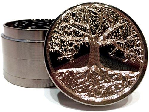 Etched Titanium Grinder Premium Original product image