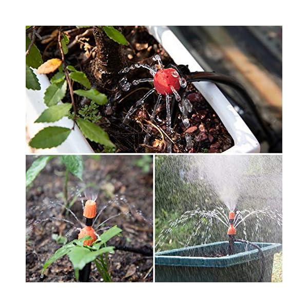 Kit per Irrigazione a Goccia,Emooqi Sistema Irrigazione, 40M DIY Kit di Micro Irrigazione Automatico Irrigazione Sistema… 6 spesavip