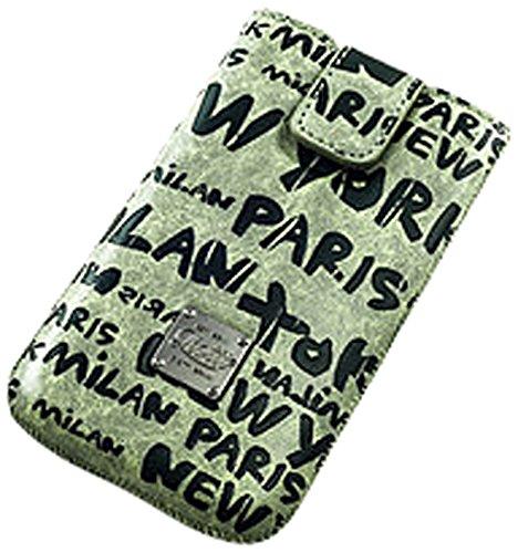 QIOTTI Urban World Case für Apple iPhone 5/5S/5C Grün