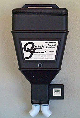 Quick Feed Automatic Horse Double Feeder - 110 - Quick Feed