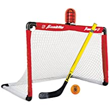 Franklin Sports NHL League Logo Light It Up Hockey Set