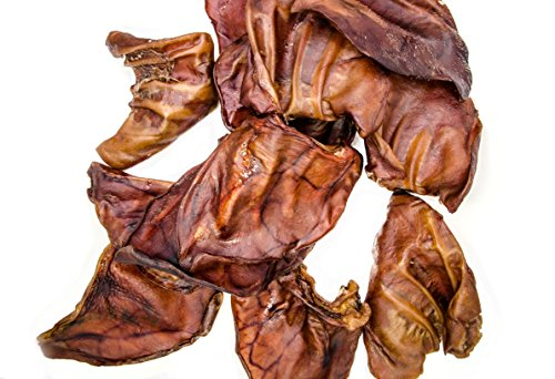 Unified Pet Maple Smoked Pig Ears, Medium, 12 Pack by Unified Pet