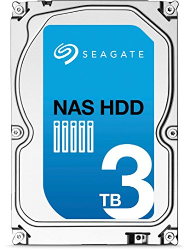 (Old Model) Seagate 3TB NAS HDD SATA 6Gb/s 64MB Cache 3.5-Inch Internal Bare Drive (ST3000VN000) by Seagate