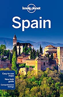 Book cover: Lonely Planet Spain
