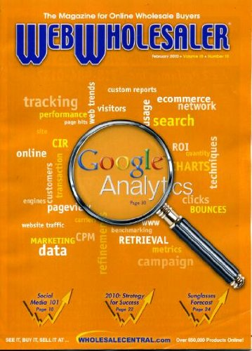 Web Wholesaler February 2010 Google Analytics, Social Media, Bright Forecast for Sunglasses, ASD Show in Las Vegas, Online Shopping Boom - Vega Sunglasses