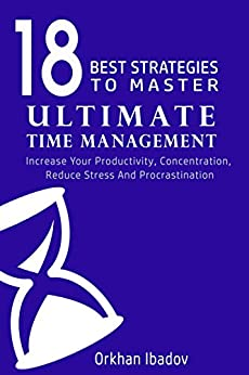 Time Management productivity concentration Productivity ebook product image