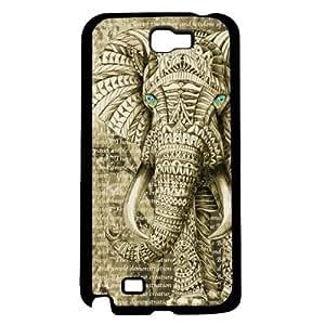 Wise Elephant Hard Snap on Case (Galaxy Note 2 II)