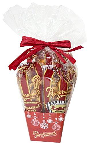 Best Holiday Snowflake Mini Popcornopolis Gift Pack Basket