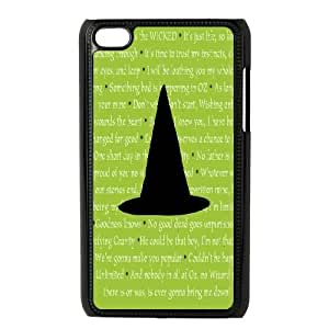 YNACASE(TM) Musical Wicked Personalized Cell Phone Case for iPod Touch 4,Custom Cover Case with Musical Wicked