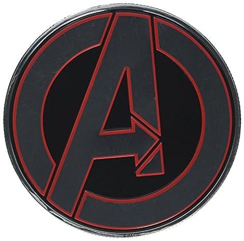 Marvel Comics Avengers Classic Logo Round Officially Licensed Original (Cherokee Bull Bar)