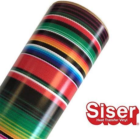 Siser EasyPatterns HTV 30.48cm x 30.48cm 롤 - 열 전달 비닐 다림질. / Siser EasyPatterns HTV 30.48cm x 30.48cm 롤 - 열 전달 비닐 다림질.