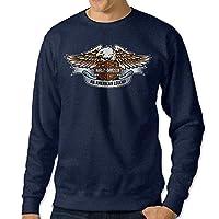 Carina Legends 1949 Hydra Glide Harley Davidson 1 Men's Custom Crewneck Sweater Navy