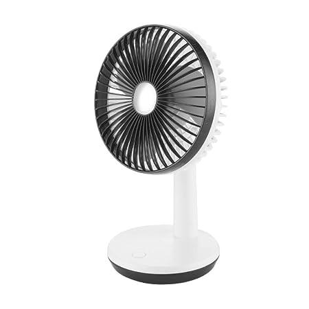 HQZZ Silent Cold Fan - Ventilador de mesa recargable USB para ...