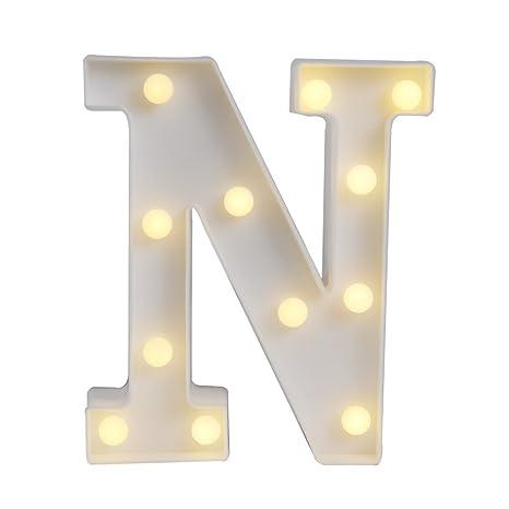 GB Unicornio pared letras luz en símbolo recargable Marquee luces de carta alfabeto Barra de luz cartel para boda hogar fiesta decoración y # xFF08; ...