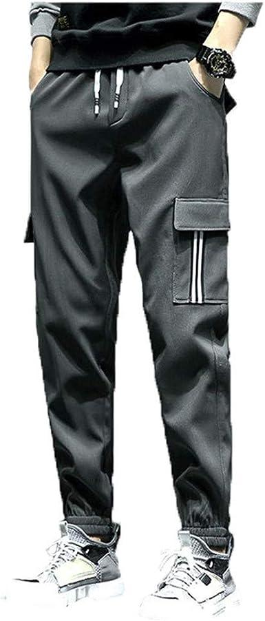 Xiaozhao Pantalones Pantalon Casual De Invierno Pantalon Juvenil De Terciopelo Para Hombre Autocultivo Pantalon De Guarda Mas Grueso Pantalon Deportivo De Hombre Gris 4xl Amazon Es Ropa Y Accesorios