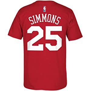 Philadelphia 76ers Ben Simmons Name and Number T-Shirt