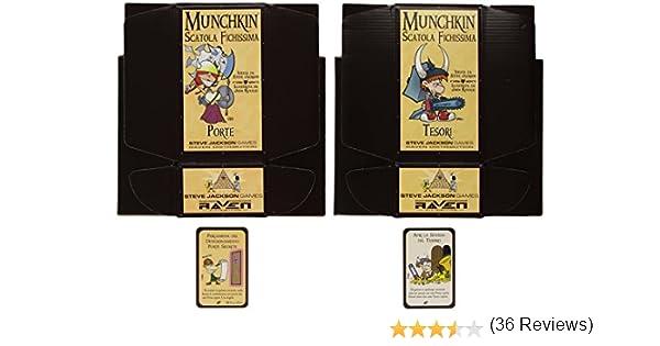 Raven Cuervo - Cajas de Munchkin Accesorios Muy Cool: Amazon.es: Juguetes y juegos